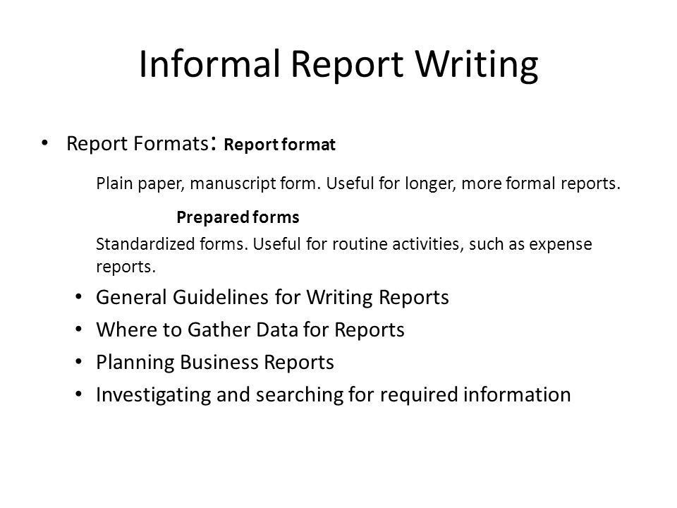 How To Format A Business Report 17 Business Report Templates Free – Business Reports Format