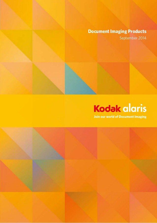 Kodak Alaris document imaging solutions guide