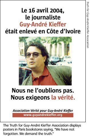 Disappeared: Guy-André Kieffer missing in Ivory Coast - Committee ...