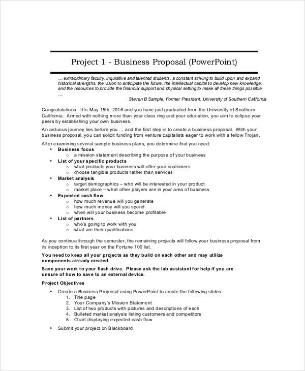 28+ Creating A Business Proposal Template | Business Proposal ...