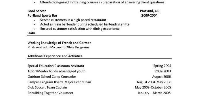 resume killer resume for chefs chef resume objective examples ...