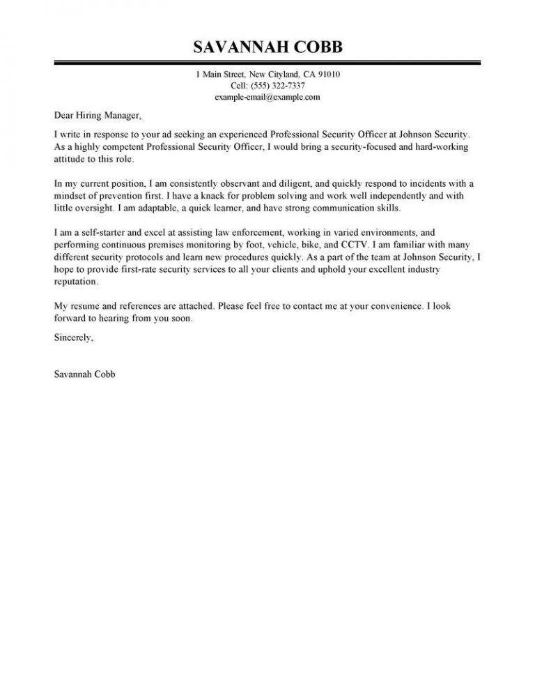 Gorgeous Cover Letter For Police Officer 16 Enforcement Sample ...