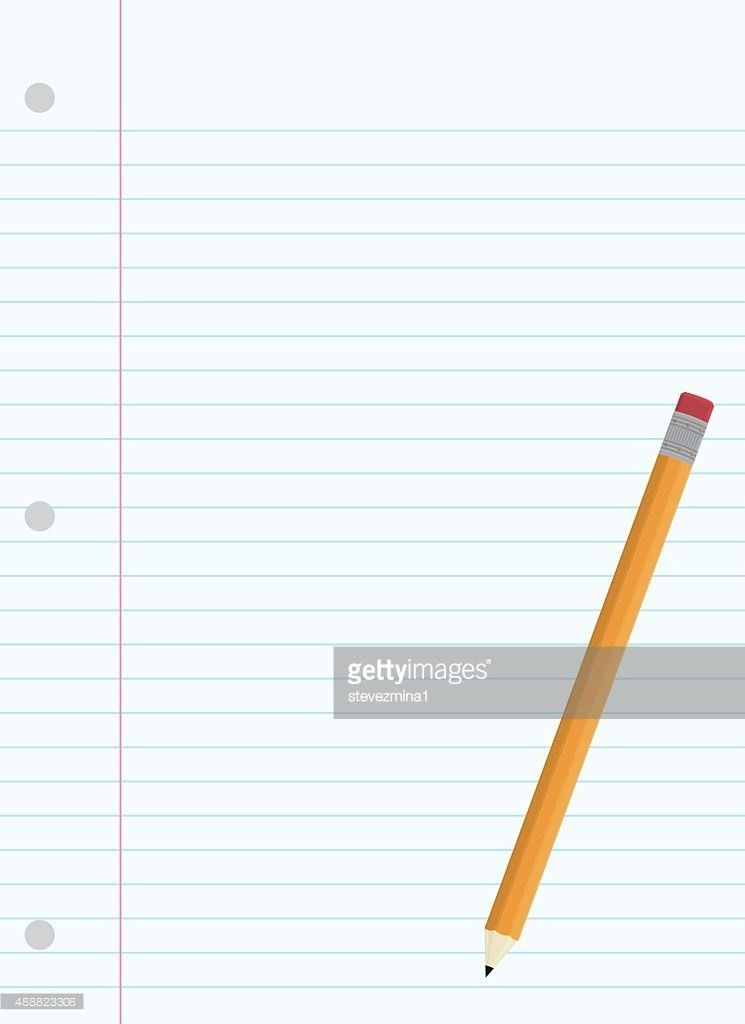 Lined Paper Stock Illustrations And Cartoons | Getty Images