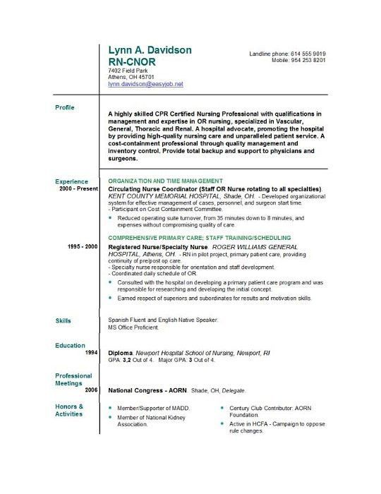 18+ Homemaker Resume Sample | Registered Nurse Resume,Resume ...