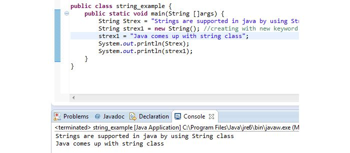 3 Examples to Understand Java String and its Methods | Tutorials ...