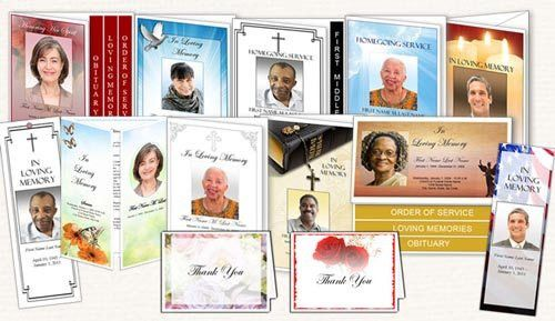 Sample Obituaries | Obituary Samples | Obituary Programs Template