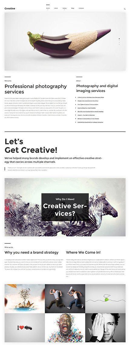 269 best Website Templates images on Pinterest | Website template ...