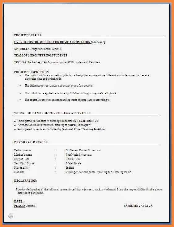sample resume pdf file | good resume examples