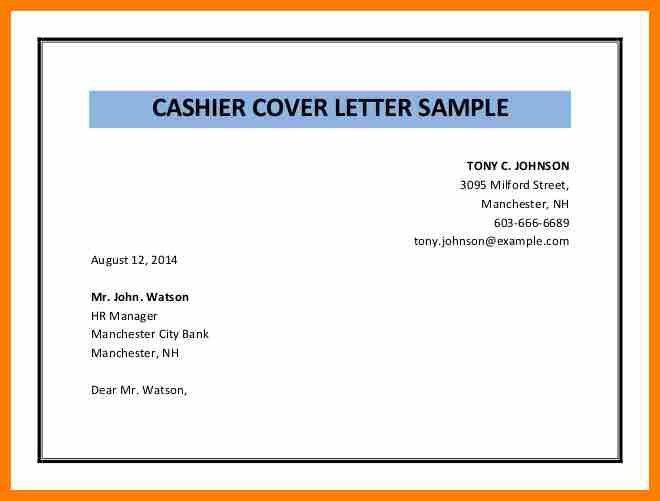 7+ sample cashier cover letter | sephora resume