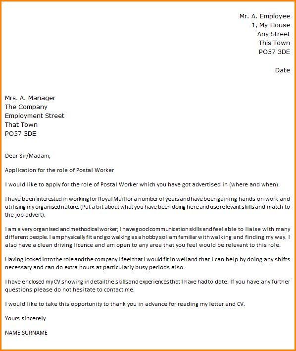 Portal Administrator Cover Letter