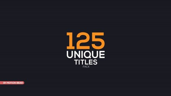 VIDEOHIVE THE TITLES FREE AFTER EFFECTS TEMPLATE - Free After ...