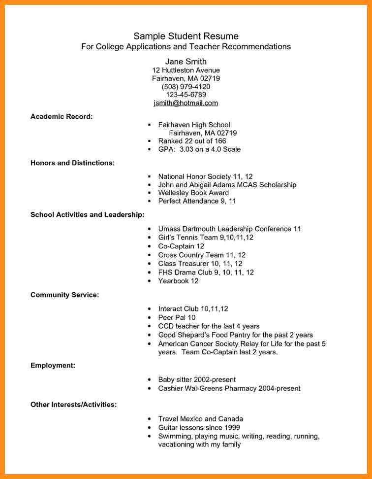 Mba Application Resume Format. Resume Format For Job Application ...