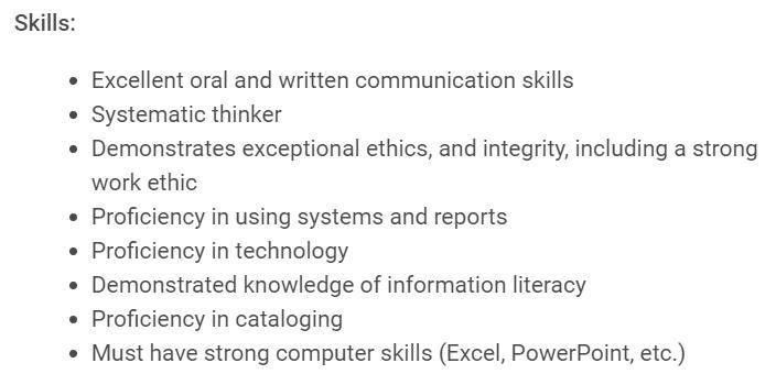 Resume Skills Work Ethic. resume examples resume templates ...