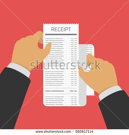 Receipt Template Stock Images, Royalty-Free Images & Vectors ...