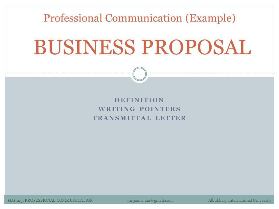 LESSON #05 Examples of Professional Communication. - ppt download