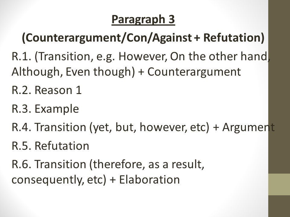 How to Write an Argument Essay - ppt download