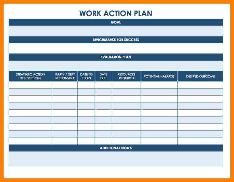 3+ action plan template | coaching-resume