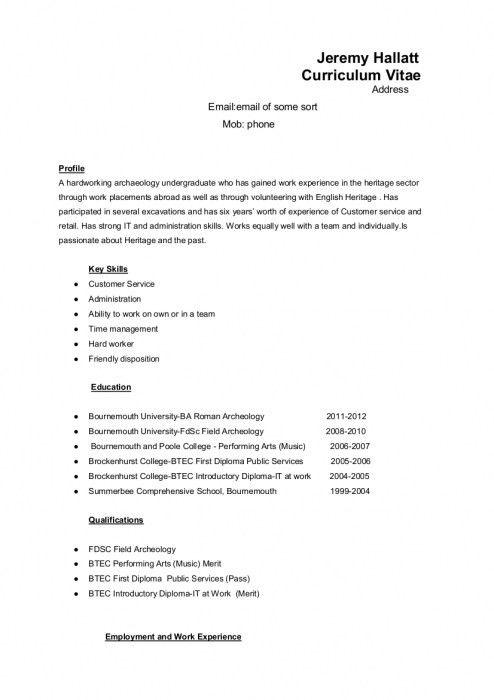 I Need A Resume [Template.billybullock.us ]