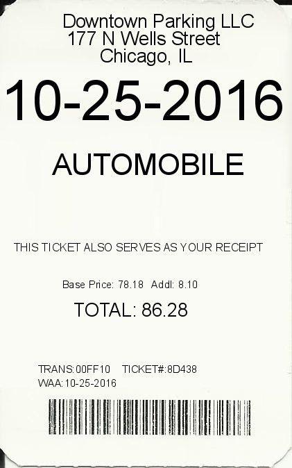 Parking-receipt | ExpressExpense - Custom Receipt Maker