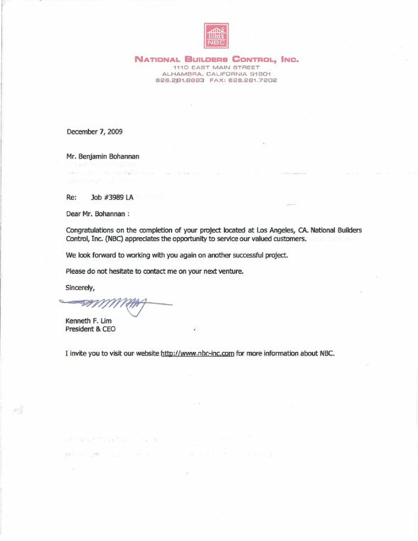Con'struc'ture - REFERENCE LETTER