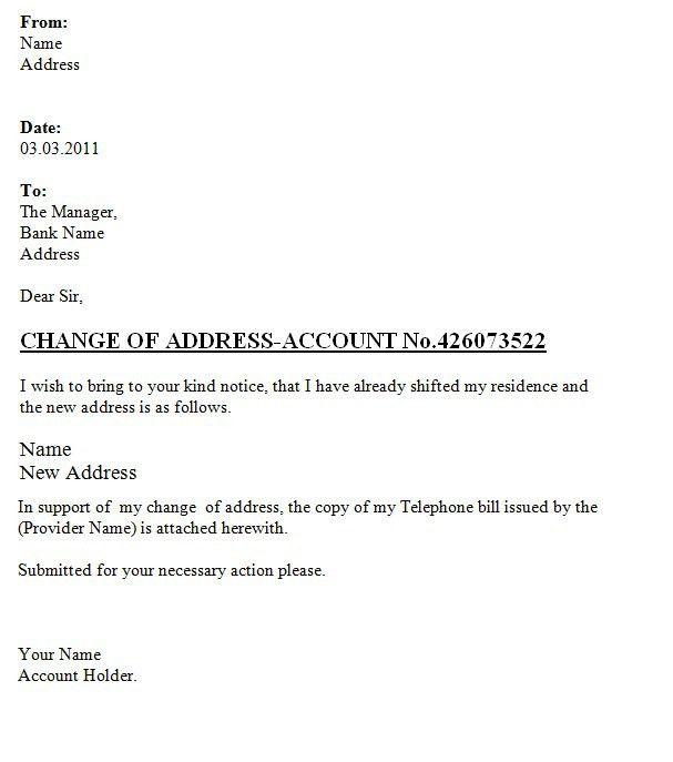 Free change of address form online