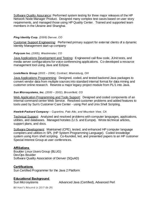 applications programmer resume programmer resumes computer