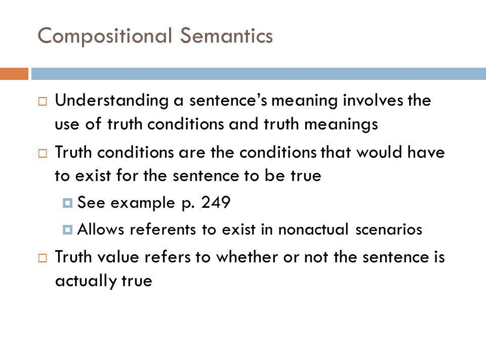 THAT'S JUST SEMANTICS Katie Welch, PhD LING ppt download