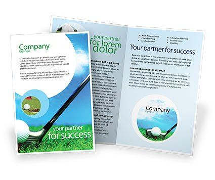 Golf Brochure Template Design and Layout, Download Now, 01768 ...
