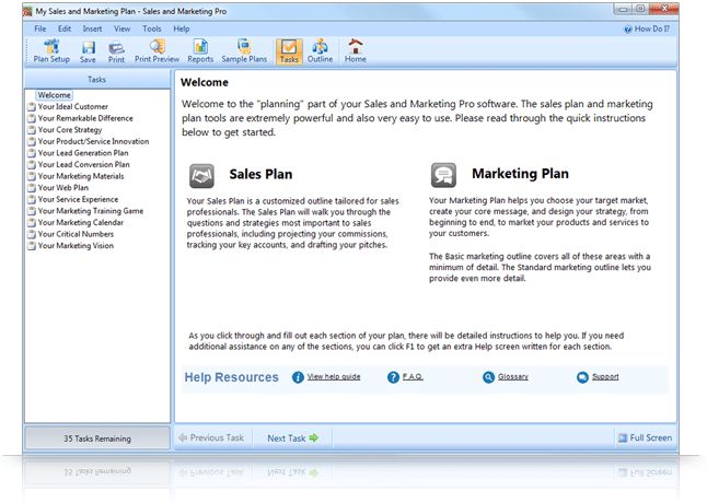 Expert guidance for your sales and marketing plan - Palo Alto Software