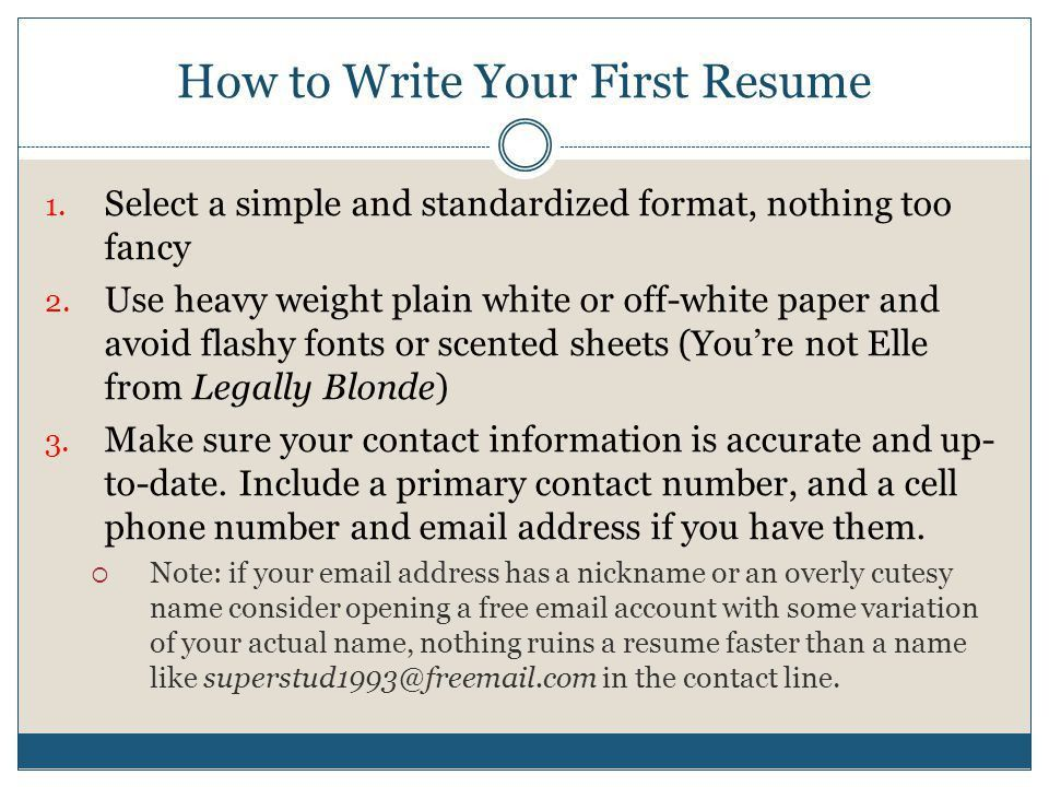Finding Your First Job. - ppt video online download