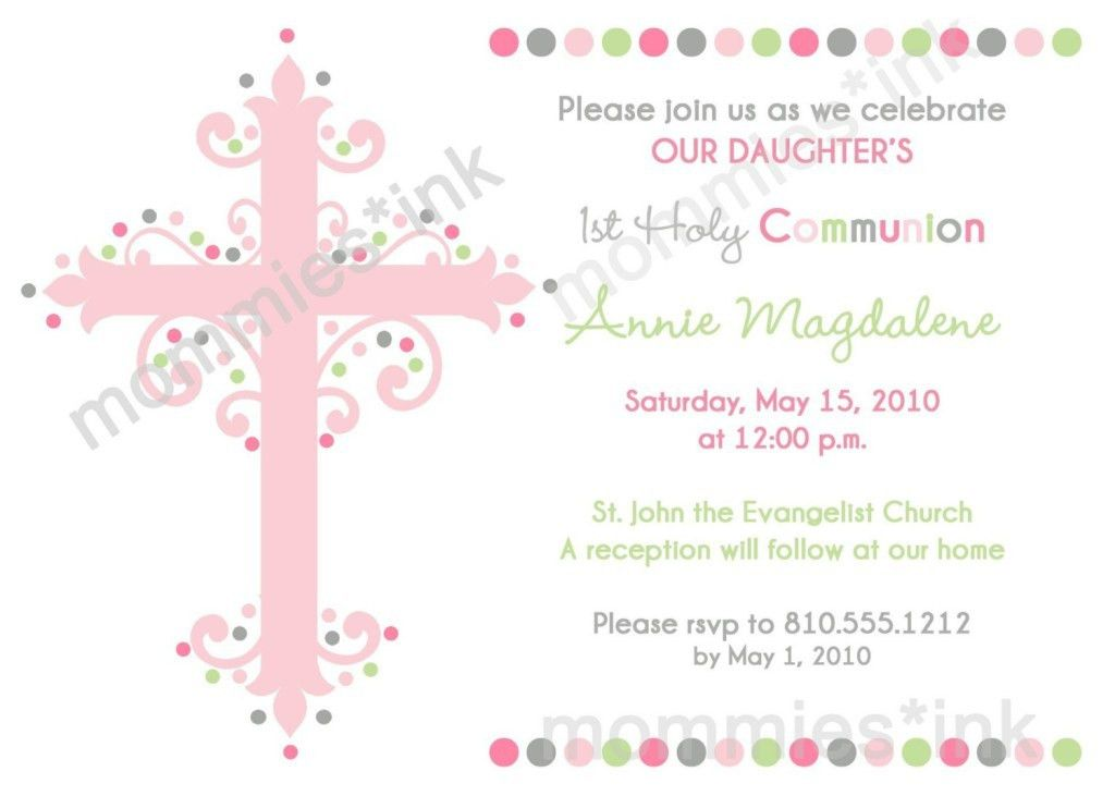 Impressive First Communion Invitation Design Ideas : emuroom