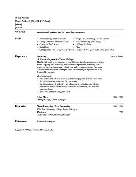 Administrative Assistant Skills Resume   Resume Badak