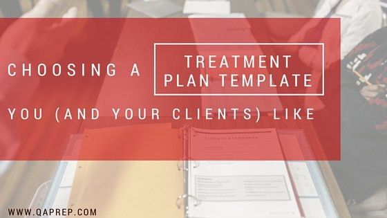 Choosing a Treatment Plan Template You (and your clients) Like ...