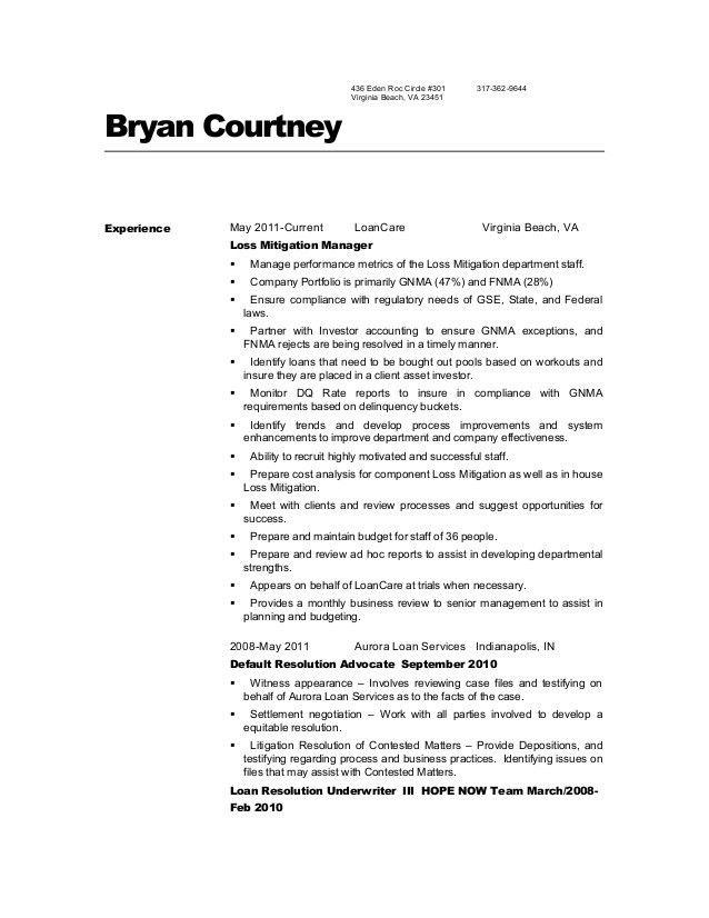 trusted. loan document specialist. loan specialist sample resume ...
