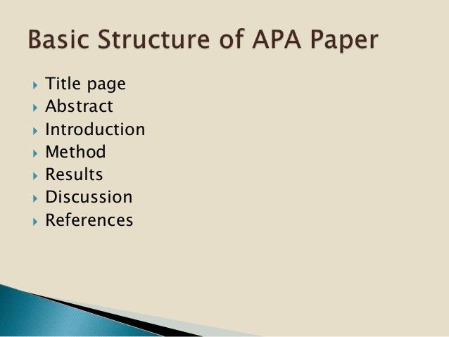 Using APA Style 2015