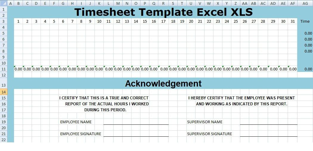Project Timesheet Template. daily timesheet template archives ...