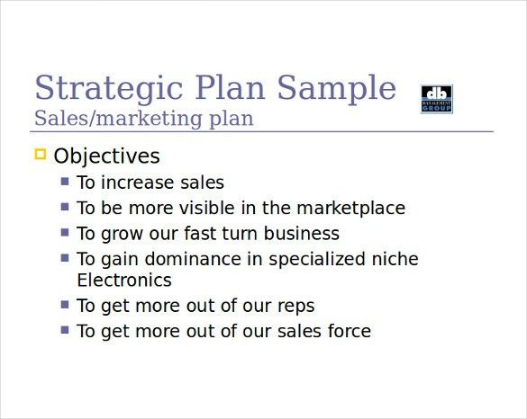 Sales Strategy Template - 10 Free Word, PDF Documents Download ...