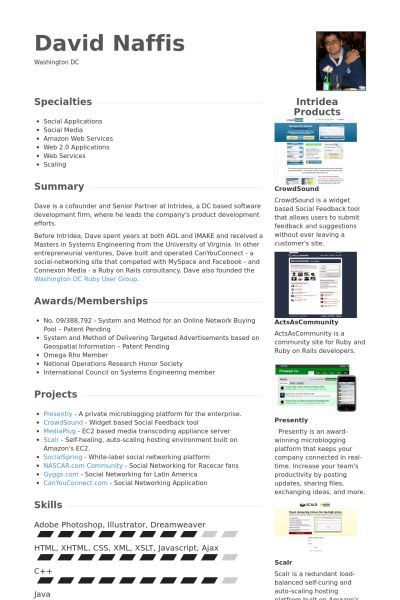 Senior Partner Resume samples - VisualCV resume samples database