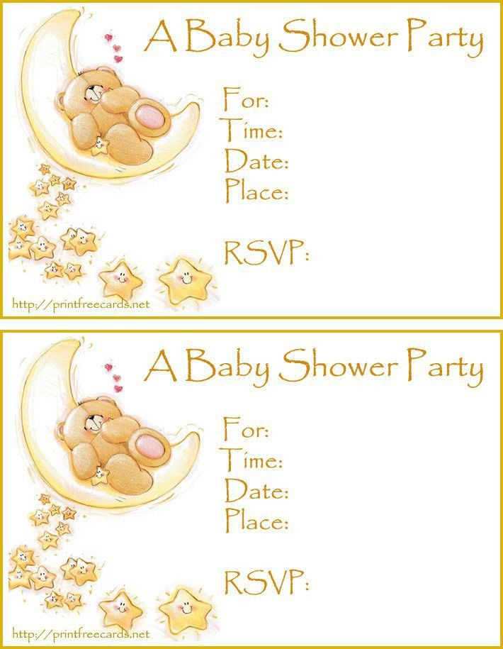 free baby shower invitation template downloads - Invitations Templates