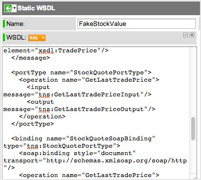 Creating a Static WSDL - ServiceNow Wiki