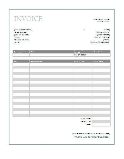 Best 25+ Printable invoice ideas on Pinterest | Names of music ...