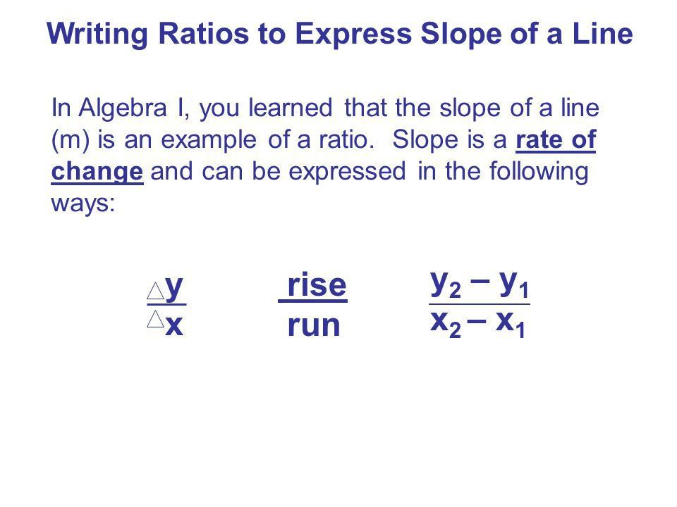 7-1 Ratios and Proportions I CAN Write a ratio Write a ratio ...