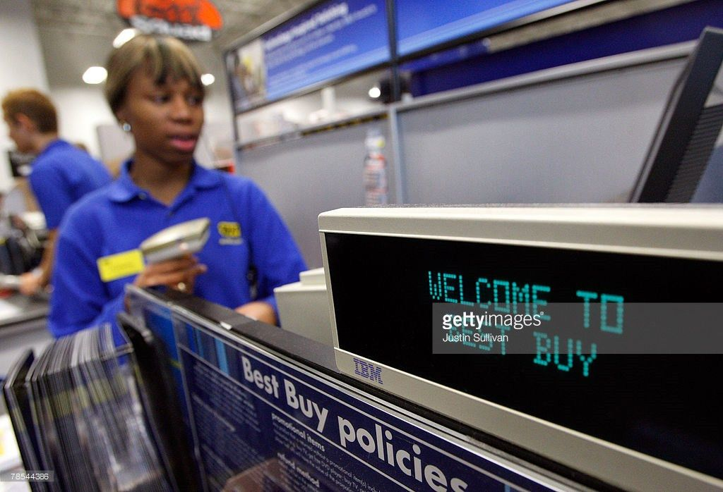 Best Buy Co Foto e immagini stock | Getty Images