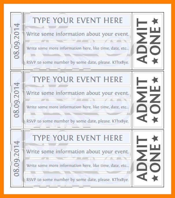 Rsvp Template For Event. event forms fundraising form templates ...