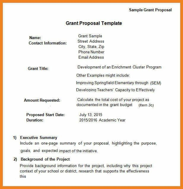 grant proposal sample | teller resume sample