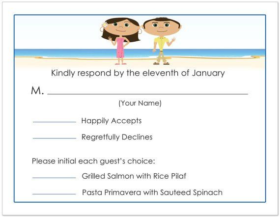 Invitations and Wedding RSVP Timeline and How To Reply To RSVP