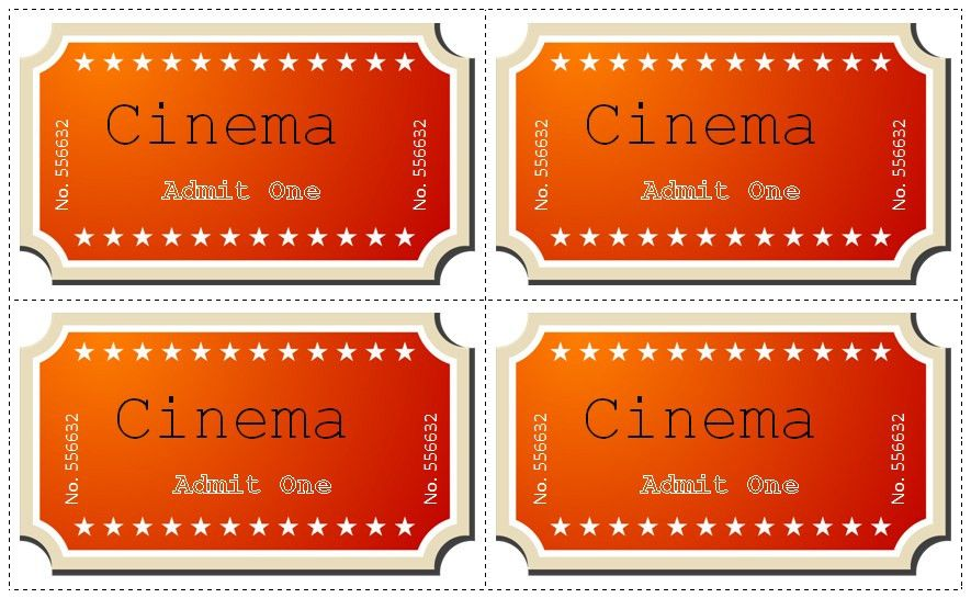21+ Free Movie Ticket Templates - Creative Template | Creative ...