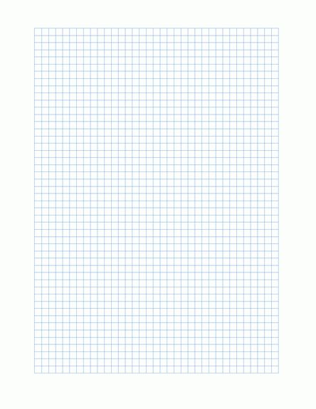 Graph Paper Template – Microsoft Word Templates