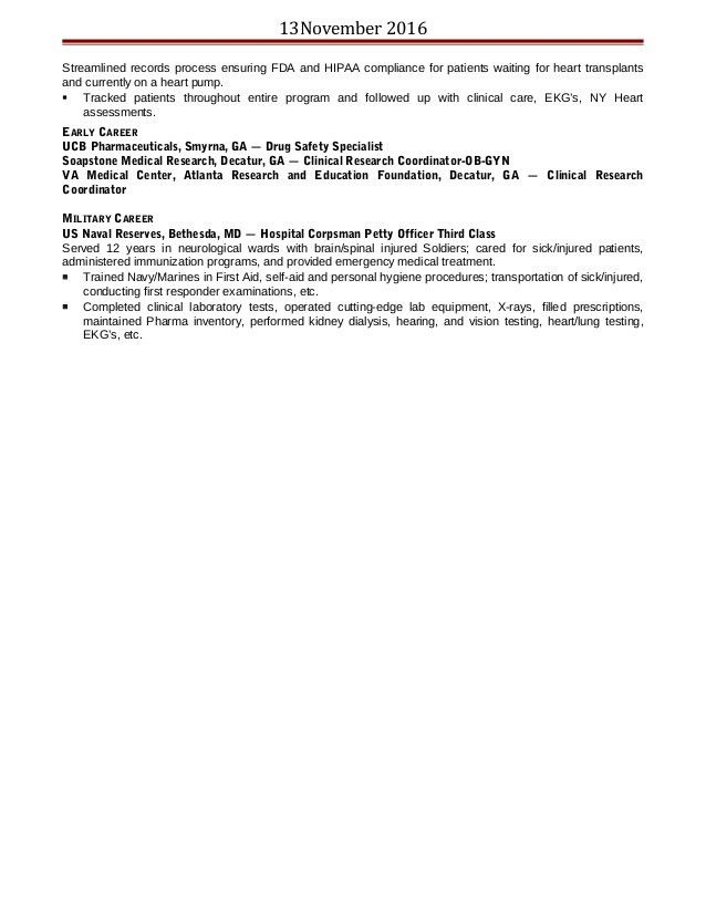 Lisa Edgerton's 13Nov2016 Resume