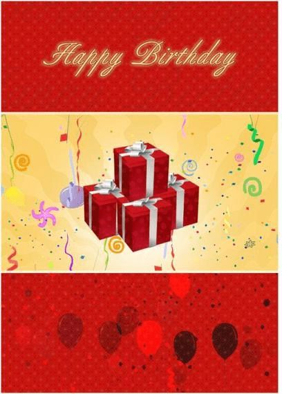 Birthday Card Template | Microsoft Word Templates